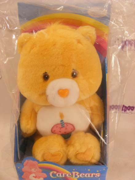 "BRAND NEW AND BOXED 12"" BIRTHDAY CAREBEAR CARE BEARS (1)"